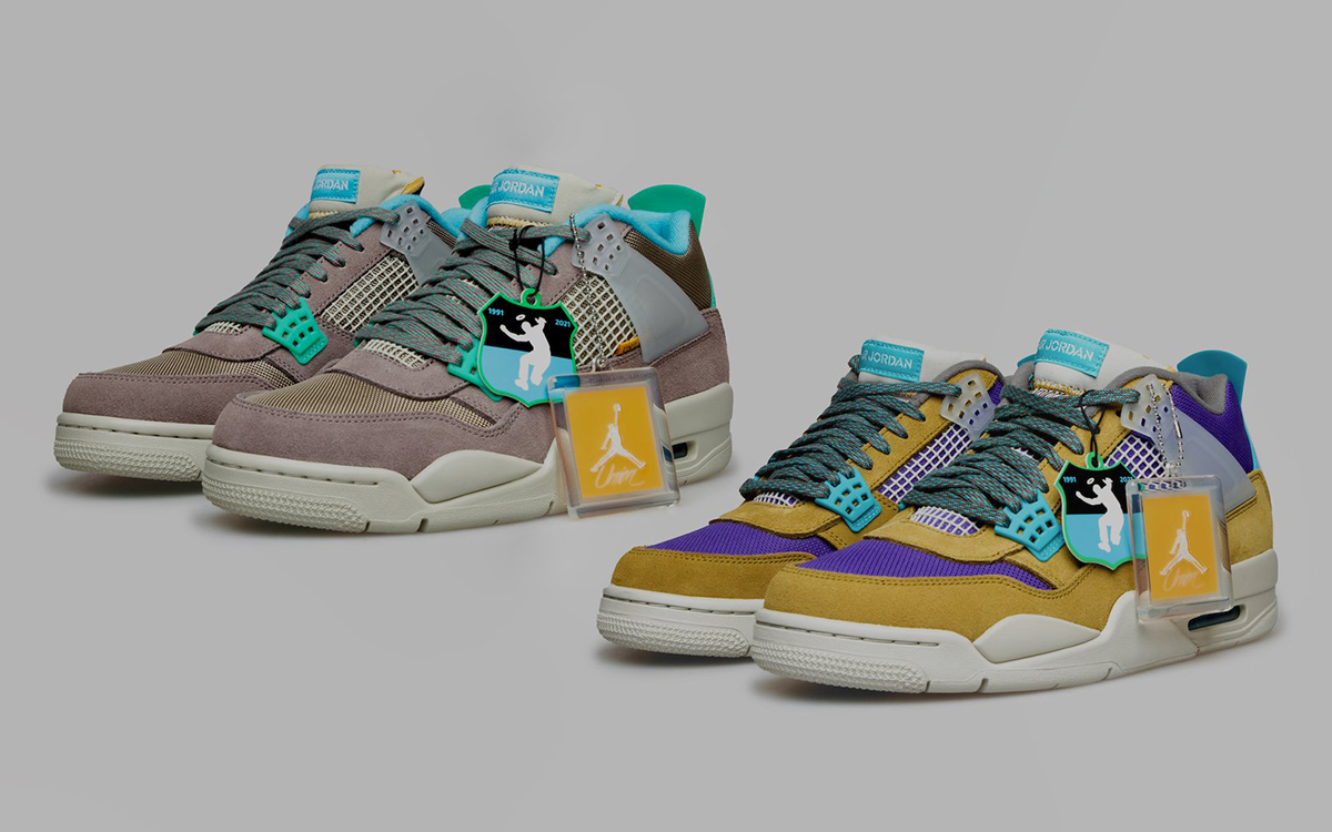 """Where to Buy the Union x Air Jordan 4 """"Tent & Trail"""" Pack"""